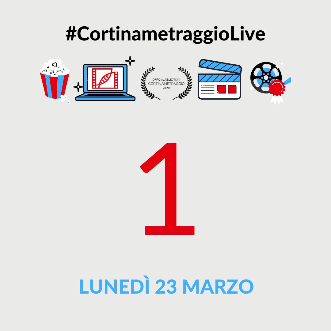 Cortinametraggio Live Giornata 1